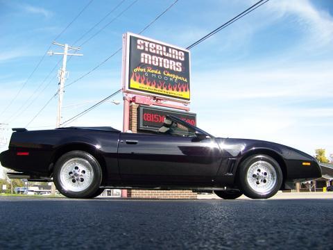 1983 Pontiac Firebird Trans Am Custom Convertible in Radiance Candy