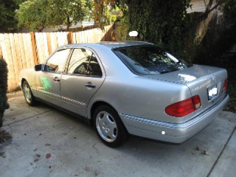 1997 Mercedes-Benz E 420 Sedan in Brilliant Silver Metallic