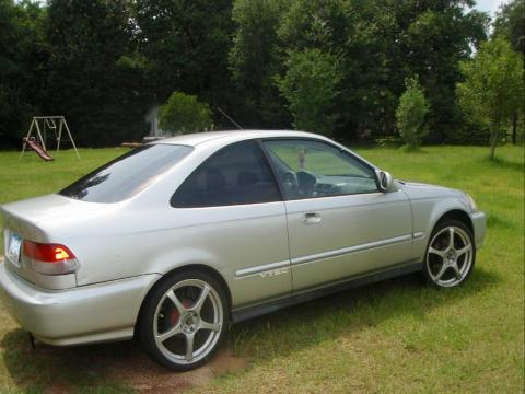 1998 Honda Civic EX Coupe in Vogue Silver Metallic