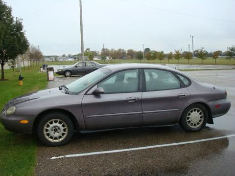 1996 Ford Taurus GL in Iris Frost Metallic