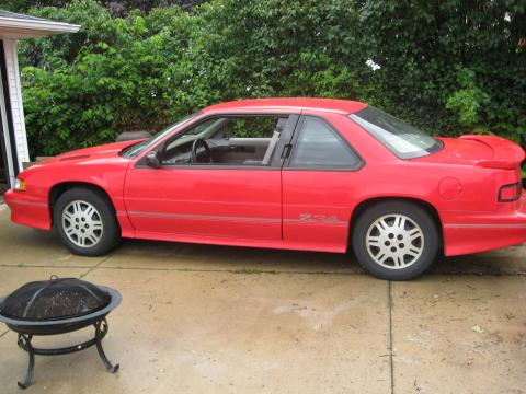 1993 Chevrolet Lumina Z34 Coupe in Red