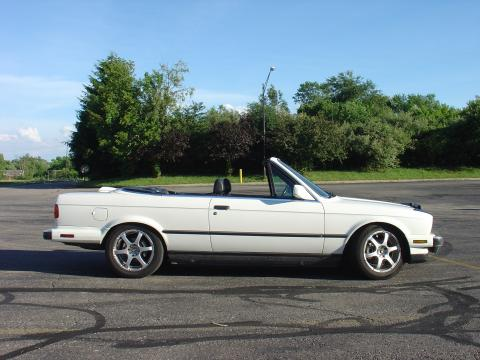 1987 BMW 3 Series 325ic Cabriolet in Alpine White