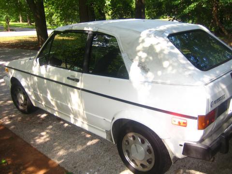 1990 Volkswagen Cabriolet  in White