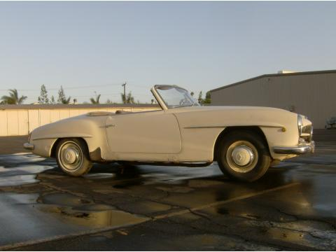 1961 Mercedes-Benz SL Class 190 SL Roadster in White