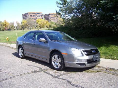 2008 Ford Fusion SEL V6 in Vapor Silver Metallic