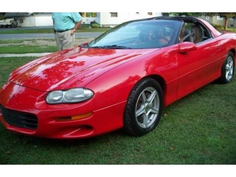 1998 Chevrolet Camaro Coupe in Bright Red