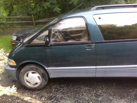 1996 Toyota Previa All-Trac in Dark Green