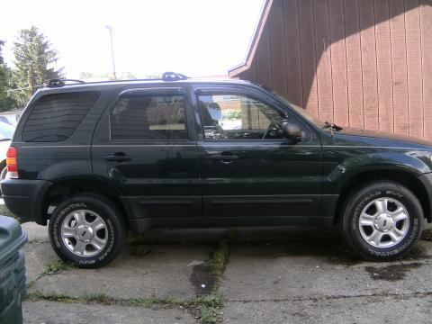 2003 Ford Escape XLT 4WD in Aspen Green Metallic