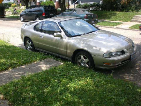 1995 Honda Prelude SE in Cashmere Silver Metallic