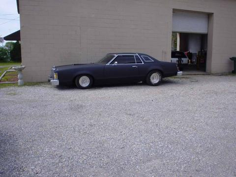 1978 Mercury Cougar  in Stealth Black