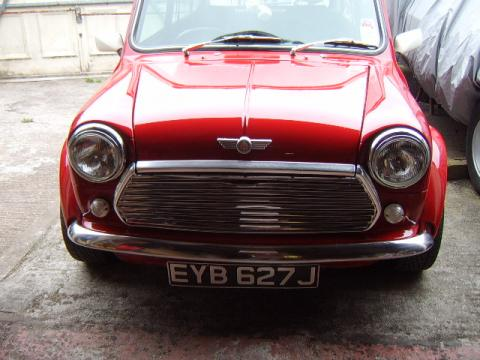 1971 Austin Mini Cooper in Red