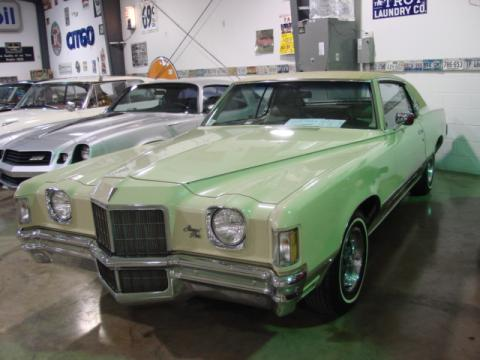 1972 Pontiac Grand Prix Coupe in Beige