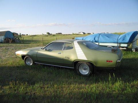 1971 Plymouth Satellite Sebring Plus in Green