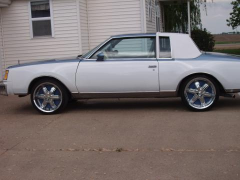 1979 Buick Regal LTD in Metallic Blue and White