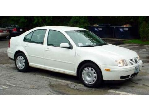 1999 Volkswagen Jetta GL Sedan in Cool White