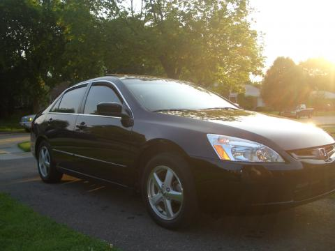 2005 Honda Accord EX-L Sedan in Nighthawk Black Pearl