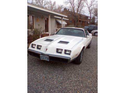 1979 Pontiac Firebird Formula in White