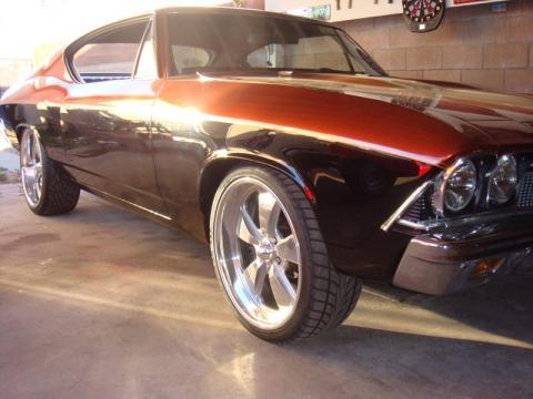 1968 Chevrolet Chevelle  in Black & Copper