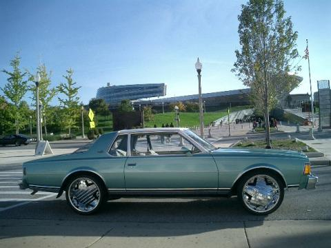 1978 Chevrolet Caprice Aero Coupe in Medium Green Metallic