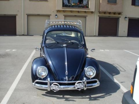 1963 Volkswagen Beetle Coupe in Sapphire Blue