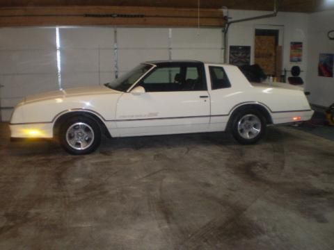 1986 Chevrolet Monte Carlo SS SuperSport in White