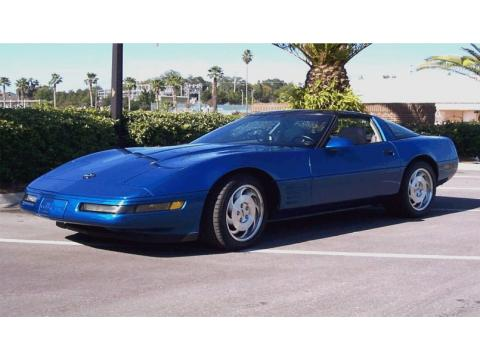 1993 Chevrolet Corvette Coupe in Quasar Blue Metallic