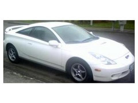 Super White 2000 Toyota Celica