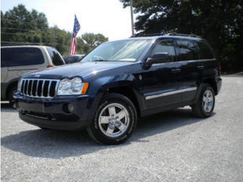 2005 Jeep Grand Cherokee Limited 4x4 in Brilliant Black Crystal Pearl