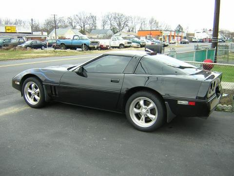 1989 Chevrolet Corvette Coupe in Black