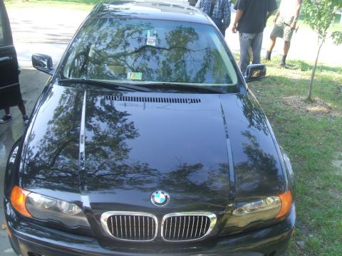 2001 BMW 3 Series 325i Coupe in Jet Black