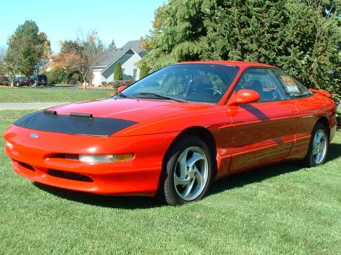 1995 Ford Probe GT in Rio Red