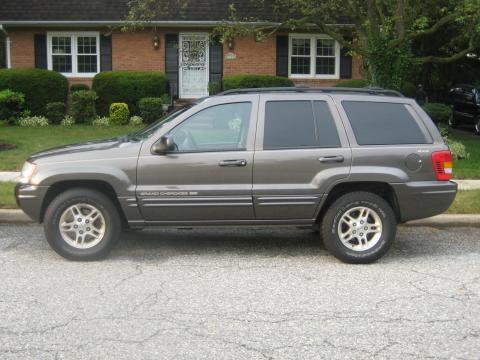 1999 Jeep Grand Cherokee Limited in Taupe Frost Metallic