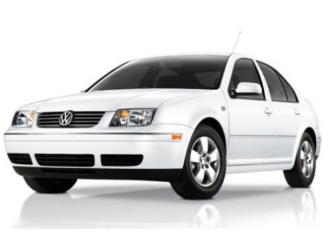 2001 Volkswagen Jetta VR6 Sedan in Cool White
