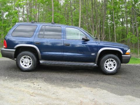 2002 Dodge Durango SXT in Patriot Blue Pearl