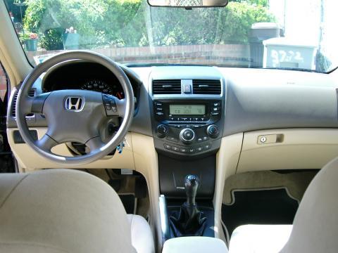 Honda Accord 2003 White Interior