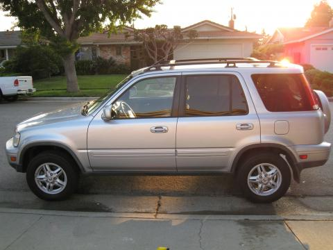 2001 Honda CR-V Special Edition 4WD in Satin Silver Metallic