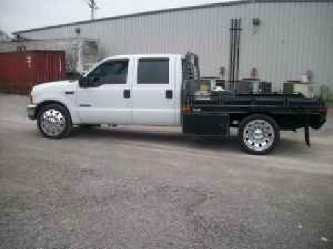 1999 Ford F350 Super Duty Dually Flatbed in Oxford White