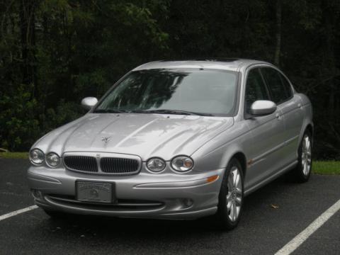 2002 Jaguar X-Type 3.0 in Platinum Metallic