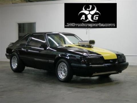 1993 Ford Mustang LX Fastback in Black