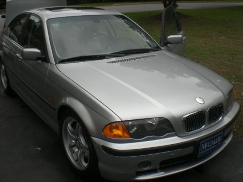 2001 BMW 3 Series 330i Sedan in Titanium Silver Metallic