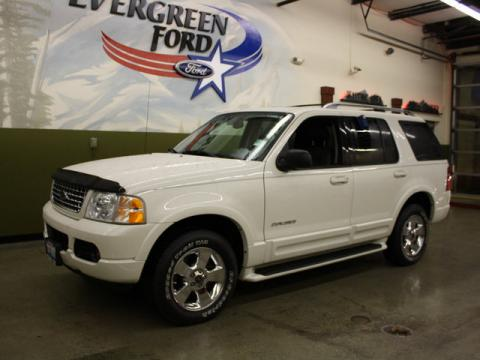 2004 Ford Explorer Limited 4x4 in Ceramic White Tri Coat Metallic