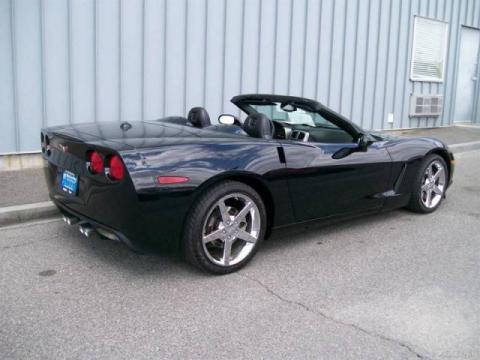 2005 Chevrolet Corvette Z51 Convertible in Black