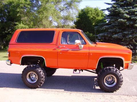 1989 Chevrolet Blazer 4X4 in Hugger Orange