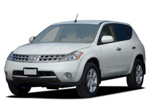 2006 Nissan Murano S in Pearl White