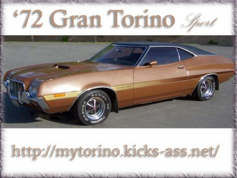 1972 Ford Torino Sport in Metallic Brown