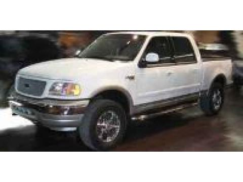 2001 Ford F150 XLT SuperCrew in Oxford White