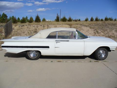 1960 Chevrolet Impala Convertible in White