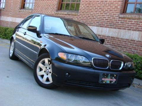 2002 BMW 3 Series 325i Sedan in Jet Black