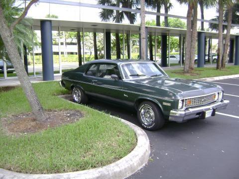 1974 Chevrolet Nova 2 Door in Green