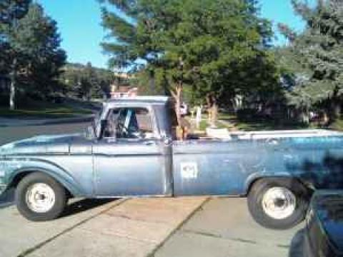 1965 Ford F100 Pickup in Blue